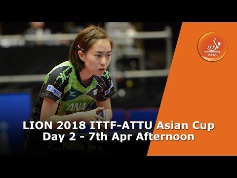 LION 2018 ITTF-ATTU Asian Cup...