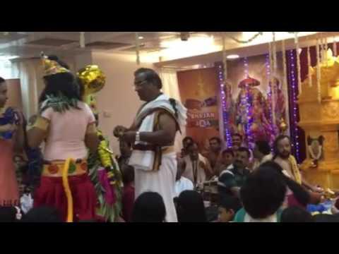 Kadalipazham with Hanuman swamy