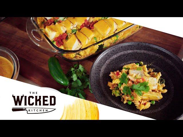 Vegan Nacho Mac Pie - HIGH PROTEIN! 💪 | The Wicked Kitchen