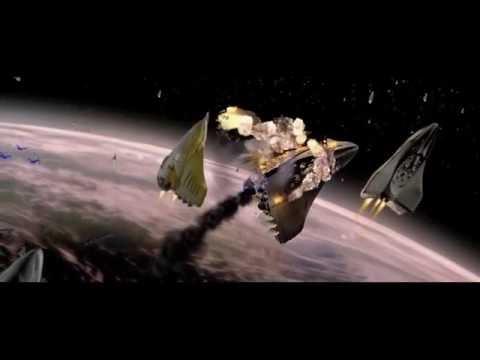 Titan A.E 2000   Earth's Destruction JASPER THORN  SOUND DESIGN REMAKE