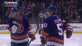 b7054160dc4 Anthony Beauvillier Shines in Isles  Win  Highlights   Analysis ...