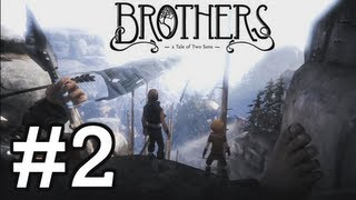 Brothers: A Tale of Two Sons - Gameplay Walkthrough Part 2 - Chapter 1 [HD] (XBLA / PSN / PC)