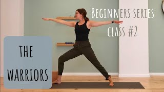 The Warriors: Yoga for Beginners - class 2 - yoga.athena