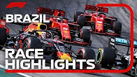 2019 Brazilian Grand Prix: Race Highlights