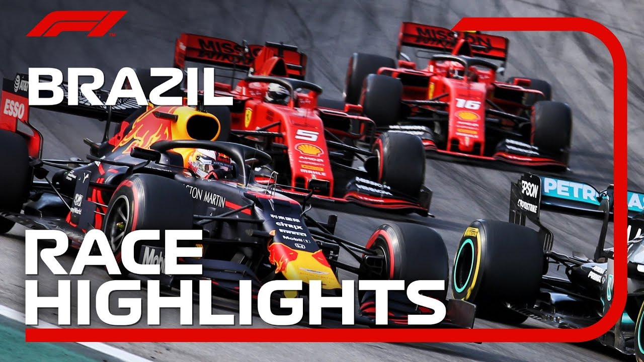 2019 Brazilian Grand Prix: Race Highlights image