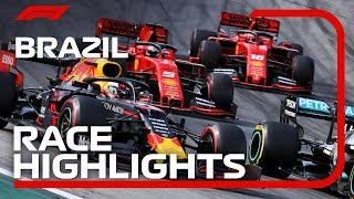 2019 Brazilian Grand Prix: Race Highlights Video