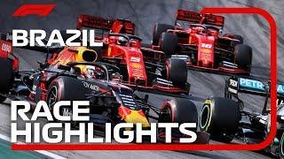 2019 Brazilian Grand Prix: Race Highlights