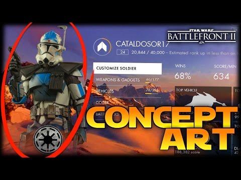 Creating Concept Art - Star Wars Battlefront II