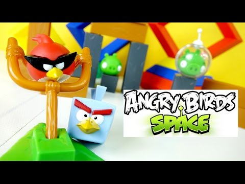angry birds space playset toy � ice bird red angry space