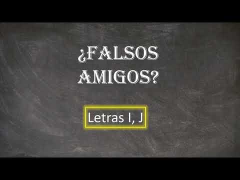 Download Gramática: Falsos amigos entre portugués y español (Letras I, J)
