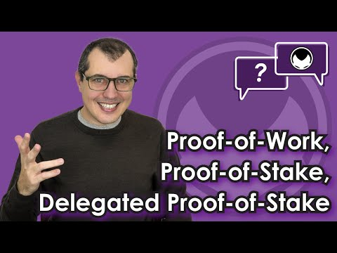 Bitcoin Q&A: Proof-of-Work (PoW), Proof-of-Stake (PoS), Delegated Proof-of-Stake (DPoS)