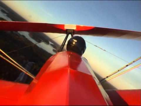 Fisher celebrity biplane