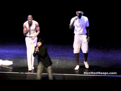 "Battioke 2014 - Shane Battier, Greg Oden, and Ken Jeong sing ""I Want It That Way"""