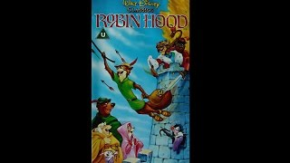 Opening to Robin Hood UK VHS 1992