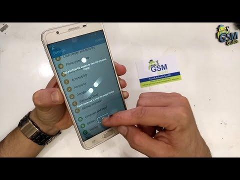 How to take screenshot on Samsung Galaxy J5, J7,J2.