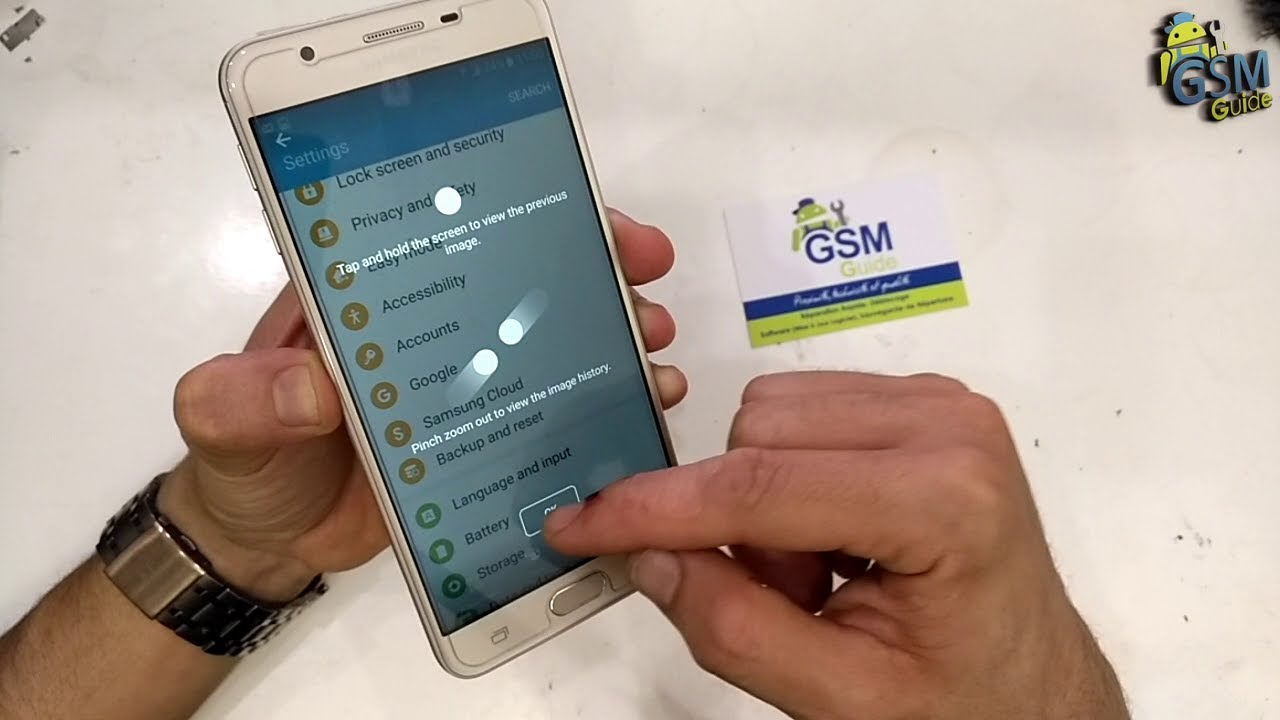 J7 / J5 / J3 / prime How to TAKE SCREENSHOT on Samsung Galaxy ...