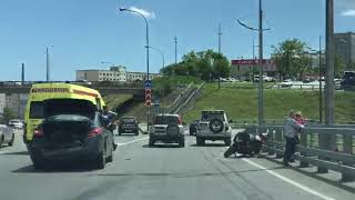 Авария на мосту через бухту Золотой рог