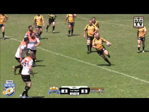 2015 Hunter Valley Charity Rugby League Day Quarter Final #2 - HV All Stars v Ravensworth Rhinos