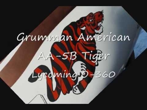 Grumman American AA-5B Tiger engine start sound