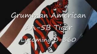 Grumman American AA-5B Tiger engine start sound