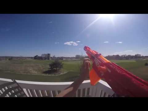 nerf war sniper vs sniper