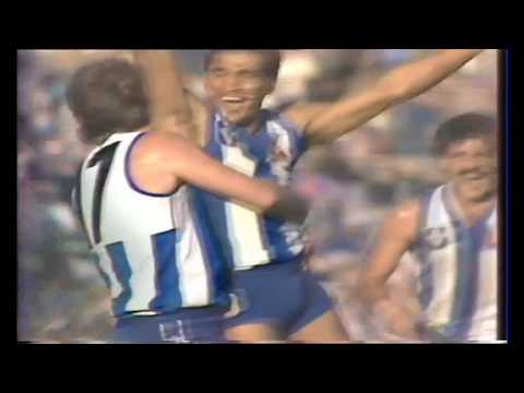 Watch behind the scenes as Phil Krakouer puts the Kangaroos in front - 1985 Elimination Final
