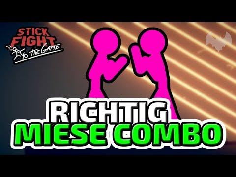 Richtig miese Combo! - ♠ Stick Fight: The Game ♠ - Deutsch German - Dhalucard