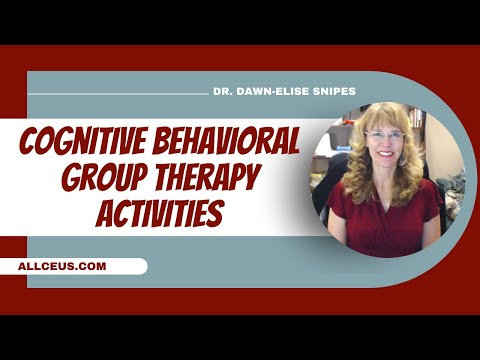 169  Cognitive Behavioral Group Activities