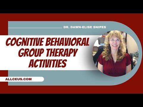 169  Cognitive Behavioral Group Activities