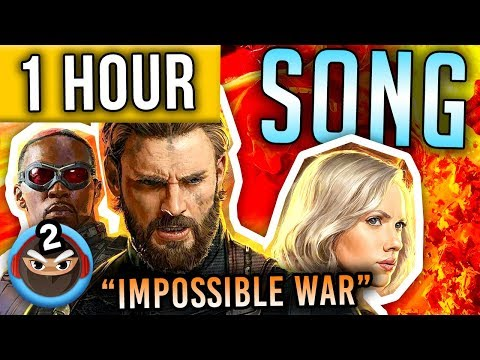 "1 HOUR ► AVENGERS INFINITY WAR SONG ""Impossible War"" TryHardNinja feat. Mega Ran"