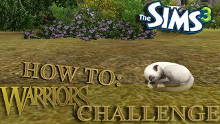 Sims 3: Warrior Cats Legacy Challenge| How To: Part 1-CAS