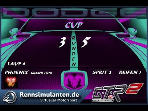GTR2  Dodge Challenger cup race 4  @ Phoenix 26-07-2017