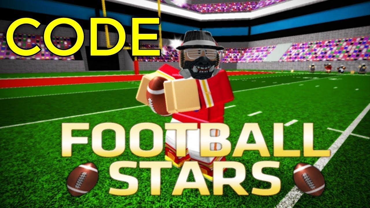 Football Stars Code Roblox - nfl 2 roblox codes
