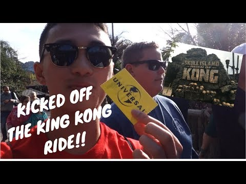 THEY KICKED US OFF THE KING KONG RIDE!  DCP Spring 2018