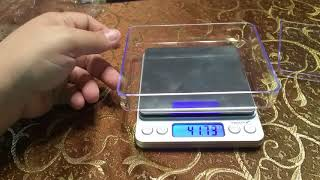 Proster Digital Pocket Scale, 0.01-500 Gram (Oz, G, Ct, Gr, Pcs)