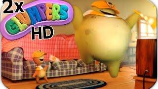 Los Glumpers y el deporte. Dibujos animados divertidos. 2 episodios