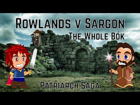 Sir Strawface Michael Rowlands v Wizard Sargon of Akkad - Patriarchy Bok 1 thru 7