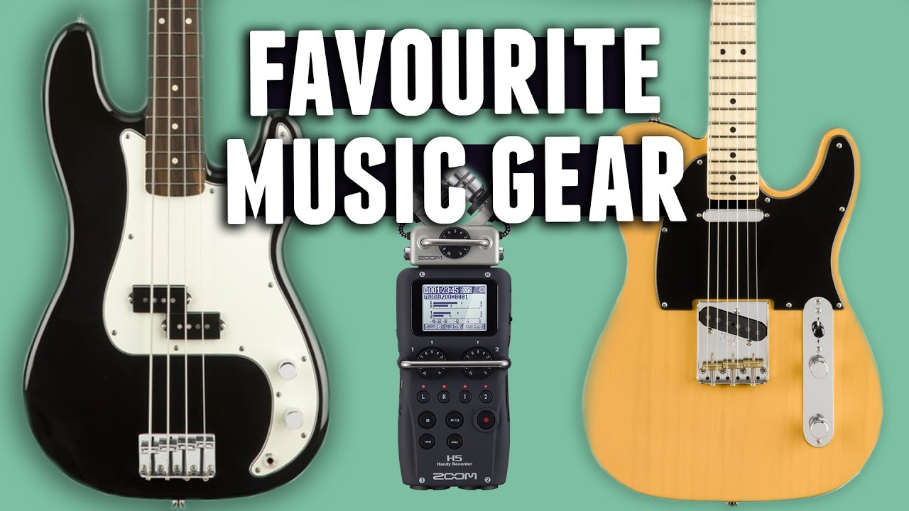 10 YouTubers Reveal Their Favourite Music Gear