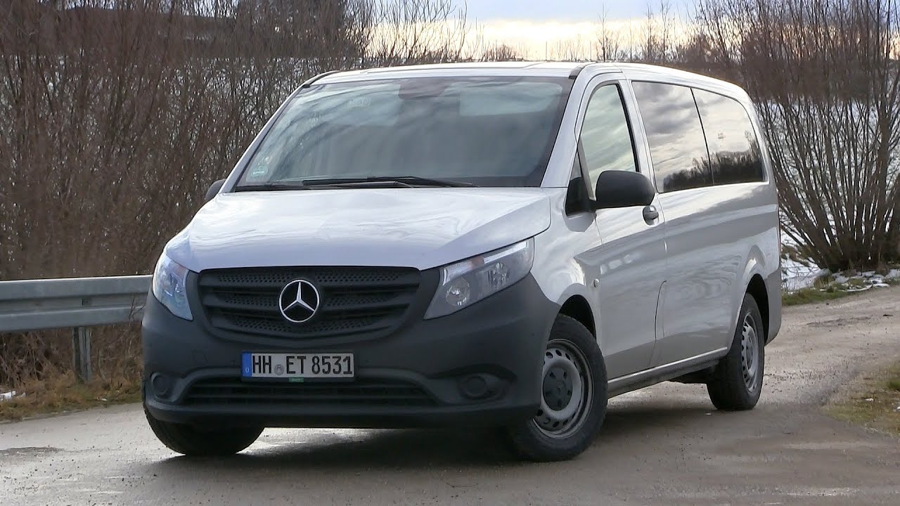 2015 mercedes benz vito tourer 116 cdi 163 hp test drive youtube. Black Bedroom Furniture Sets. Home Design Ideas