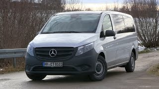 2015 Mercedes Benz Vito Tourer 116 CDI (163 HP) Test Drive(, 2016-01-08T16:42:54.000Z)
