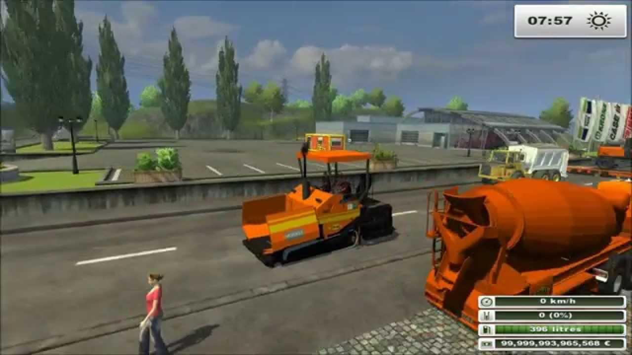Chantier tp travaux public farming simulator 2013 for Pack travaux