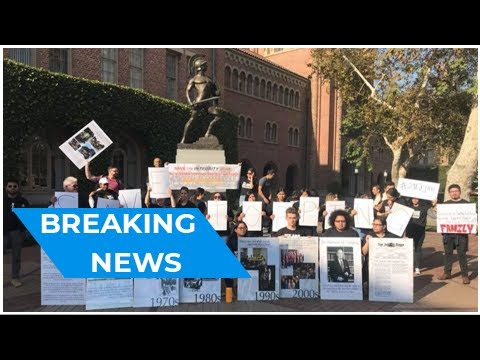 Protests decry USC administrators' takeover of student-funded scholarship program | Breaking News