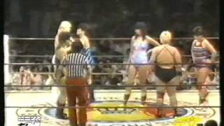 Yukari Ohmori/Jumbo Hori/Lioness Asuka vs Dump Matsumoto/Desiree Petersen/Condor Saito (part 1)