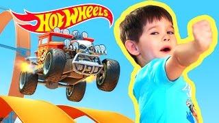 Hot Wheels мультик про машинки. #MyHotWheels на #ЭрикШоу