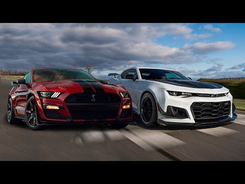 Ford Mustang Shelby GT vs  Chevrolet Camaro ZL