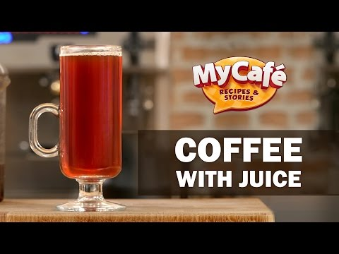 Coffee With Juice from My Cafe and JS Barista Training Center
