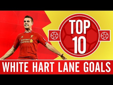 TOP 10: Great goals at Spurs | Torres, Henderson and Flanno