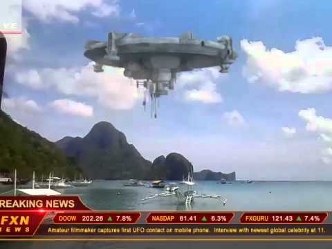 el nido, palawan cnn news ufo ....