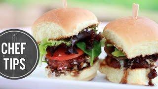 Best Turkey Burger Recipe - Blue Cheese Burgers With Jalapeño Jam