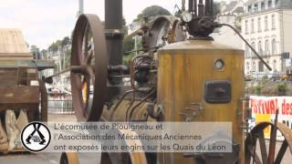 Les Mécaniques Anciennes et l'Écomusée de Plouigneau sur les Quais du Léon